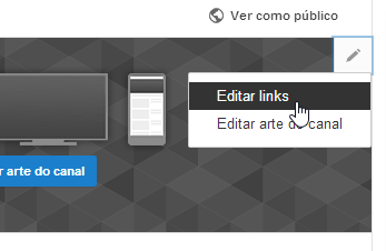 links para youtube