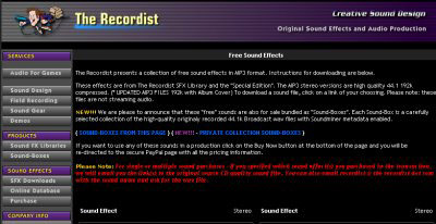 creativesounddesign.com/the-recordist-free-sound-effects/